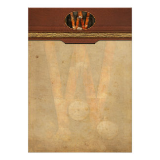 Steampunk - Alphabet - W is for Watches Personalized Invitations