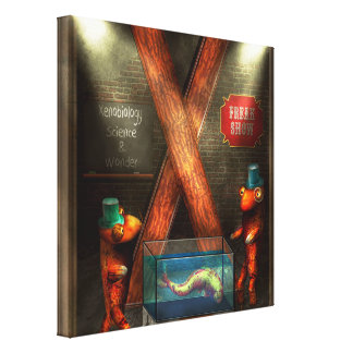 Steampunk - Alphabet - X is for Xenobiology Canvas Print