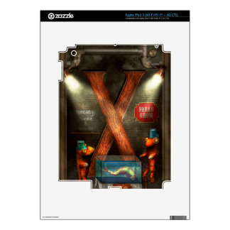 Steampunk - Alphabet - X is for Xenobiology Skin For iPad 3