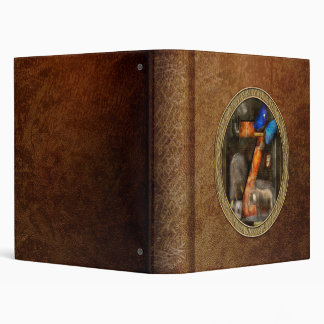 Steampunk - Alphabet - Z is for Zoology Vinyl Binders