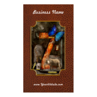 Steampunk - Alphabet - Z is for Zoology Business Card