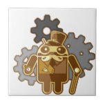Steampunk android tile