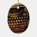 Steampunk - apenas una máquina de escribir ordinar adorno de reyes