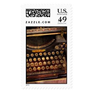 Steampunk - apenas una máquina de escribir sellos