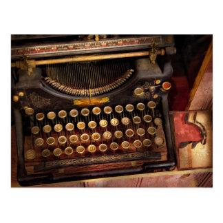 Steampunk - apenas una máquina de escribir postal