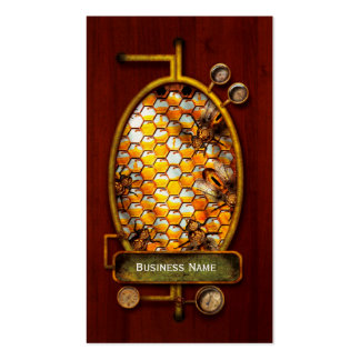 Steampunk - Apiary - The hive Business Card Template