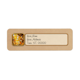 Steampunk - Apiary - The hive Label