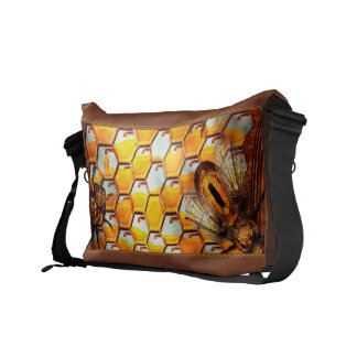 Steampunk - Apiary - The hive Courier Bag