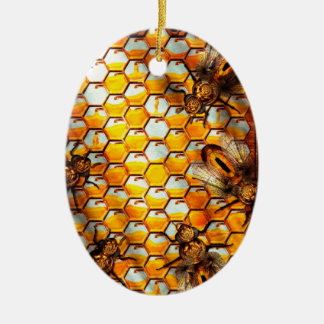 Steampunk - Apiary - The hive Christmas Ornament