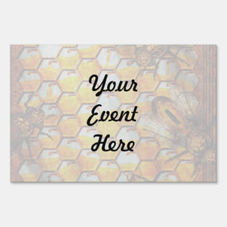 Steampunk - Apiary - The hive Sign