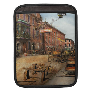 Steampunk - Archibald McLeish's Vulcan Iron Works Sleeve For iPads