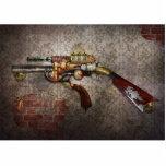 Steampunk - arma - el sidearm escultura fotográfica