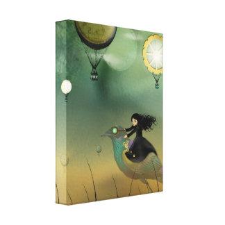 Steampunk Art Canvas Print - Steampunk Flight