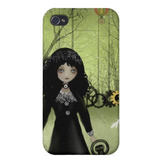 Steampunk Art iPhone Case Clockwork Princess iPhone 4/4S Cover