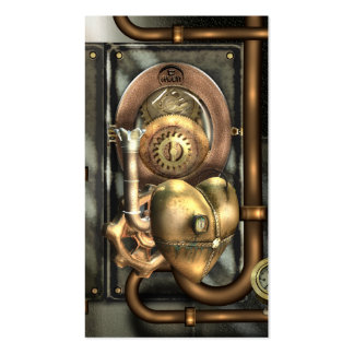 Steampunk At Heart Business Card