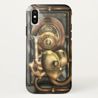 Steampunk At Heart iPhone X Case