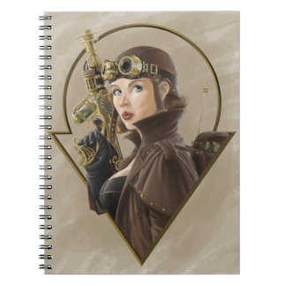 Steampunk Aviator Notebook