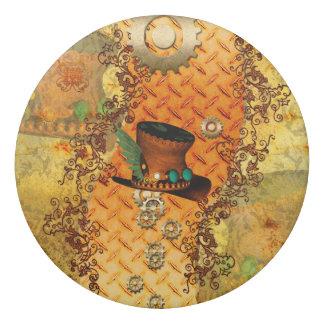 Steampunk, awesome steam hat eraser