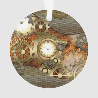 Steampunk, awesome steampunk design ornament