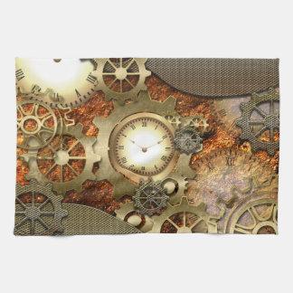 Steampunk, awesome steampunk design towel
