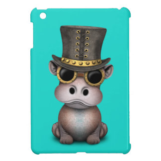 Steampunk Baby Hippo Cover For The iPad Mini