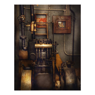 Steampunk - Back in the engine room Flyer