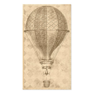 Steampunk Balloon Business or Contact Cards Business Card