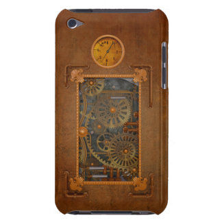 Steampunk Barely There iPod Carcasas