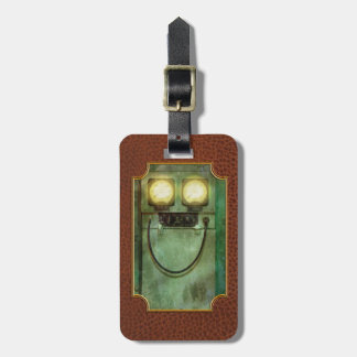 Steampunk - Be Happy Luggage Tag