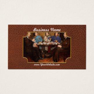 Steampunk - Bionic three having tea 1917 Business Card