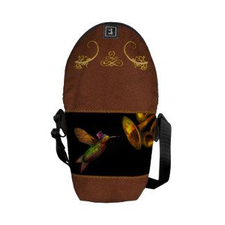 Steampunk - Bird - Apodiformes Centrifigalus Messenger Bag