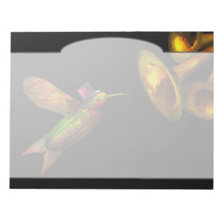 Steampunk - Bird - Apodiformes Centrifigalus Notepad