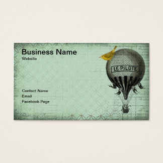 Steampunk Bird Business Card