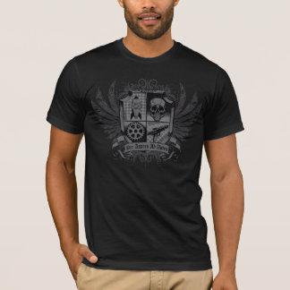 Steampunk Black - Per Aspera Ad Astra T-Shirt