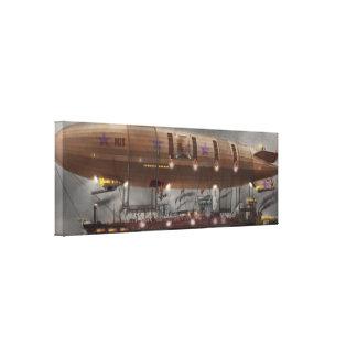 Steampunk - Blimp - Airship Maximus Canvas Print