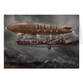 Steampunk - Blimp - Airship Maximus Cards