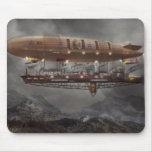 Steampunk - Blimp - Airship Maximus Mouse Pads
