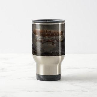 Steampunk - Blimp - Airship Maximus Coffee Mugs