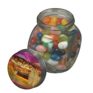 Steampunk - Blimp - Everlasting wonder Glass Jar