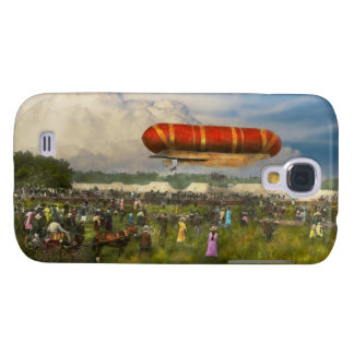 Steampunk - Blimp - Launching Nulli Secundus II Galaxy S4 Cover