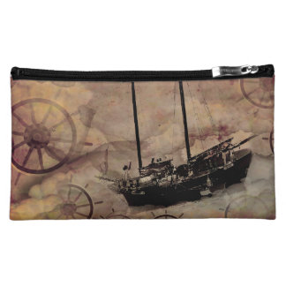 Steampunk Boat Traveller Toiletries Bag