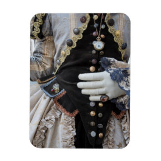 Steampunk bodice, Carnival, Venice Magnet