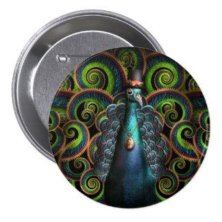 Steampunk - bonito como pavo real pin