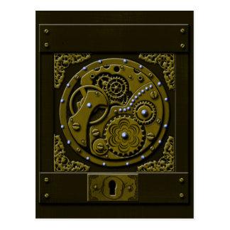 Steampunk Box Postcard