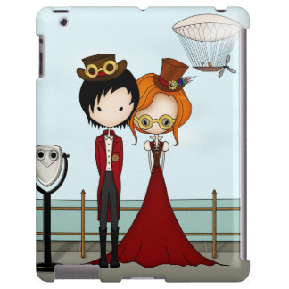 Steampunk Boy and Girl at the Seaside
