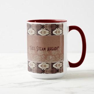 Steampunk Brass & Lace Photo Commemorative Mug