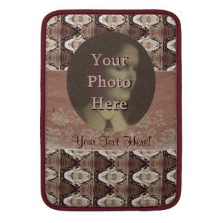 Steampunk Brass & Lace Photo MacBook Sleeve