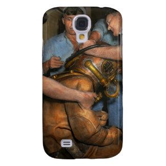 Steampunk - buceador - una carga de mis hombros funda samsung s4
