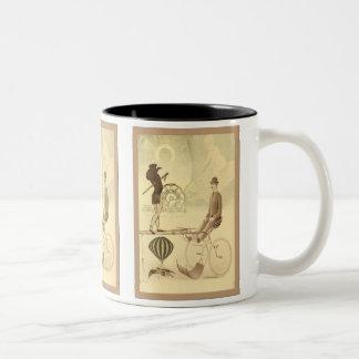 SteamPunk ~ Buggy Two-Tone Coffee Mug