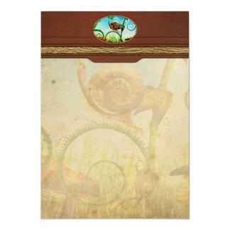 Steampunk - Bugs - Evolution take time Card